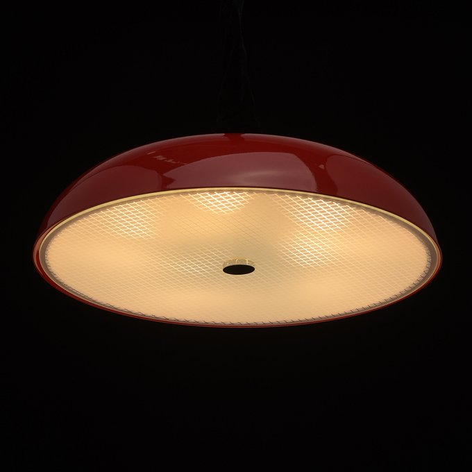 Потолочный светильник Канапе красного цвета