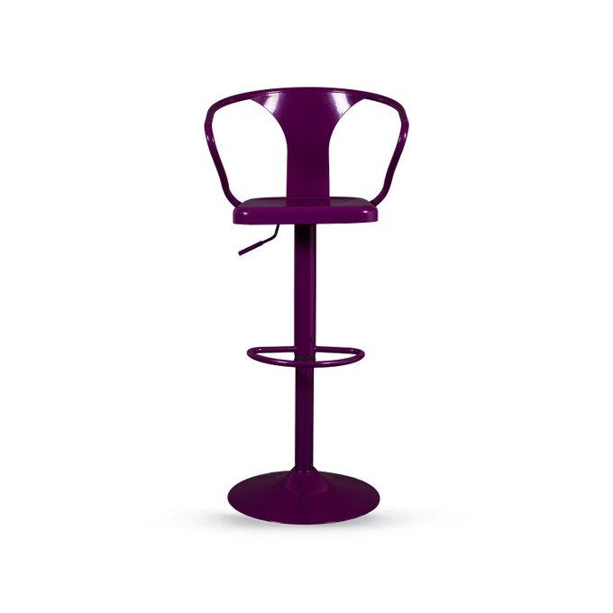 Стул барный Tolix фиолетового цвета