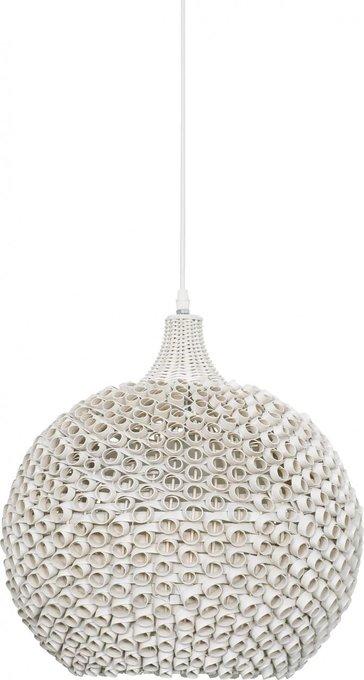 Подвесной светильник Colin белого цвета