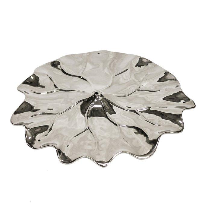 Декоративный цветок Azali 1 серебряного цвета