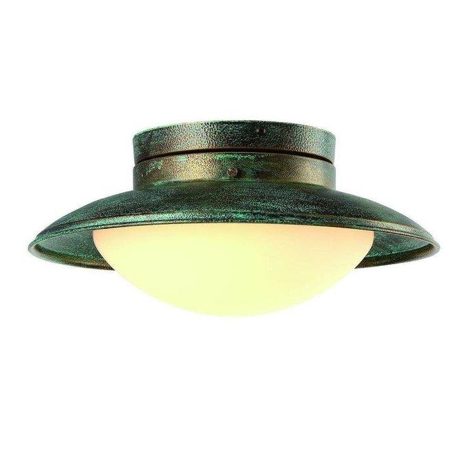 Потолочный светильник Gambrinus из металла и стекла