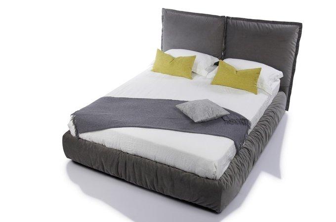 Кровать Now серого цвета 180х200