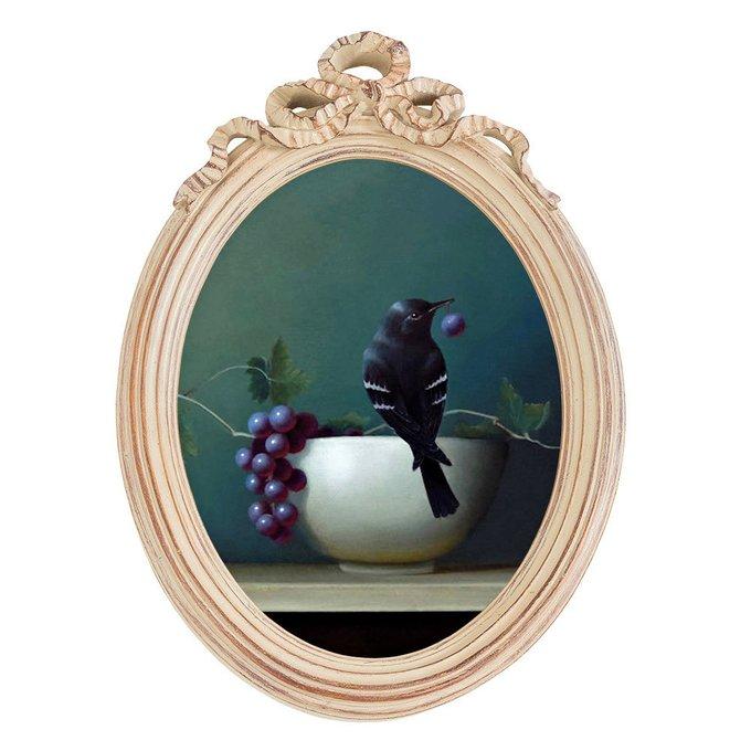 Картина на холсте Мисс Виноградовка в раме