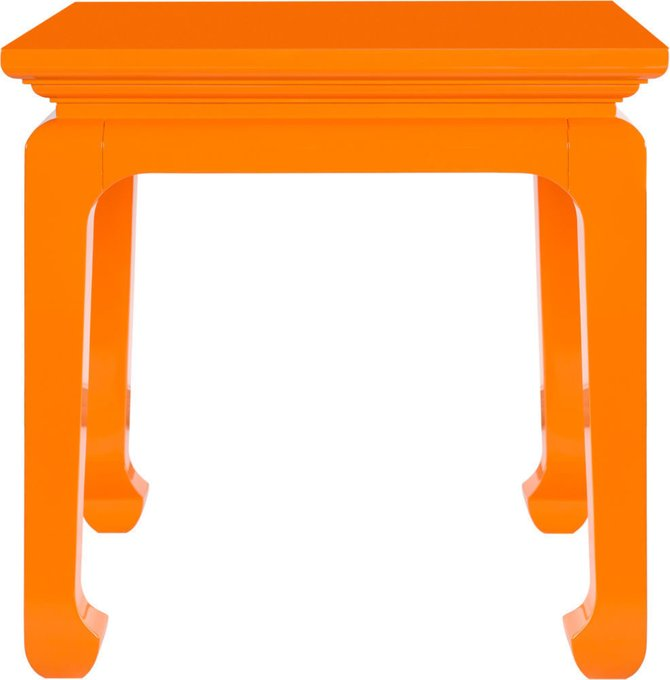 Стол журнальный Orange Teon оранжевого цвета