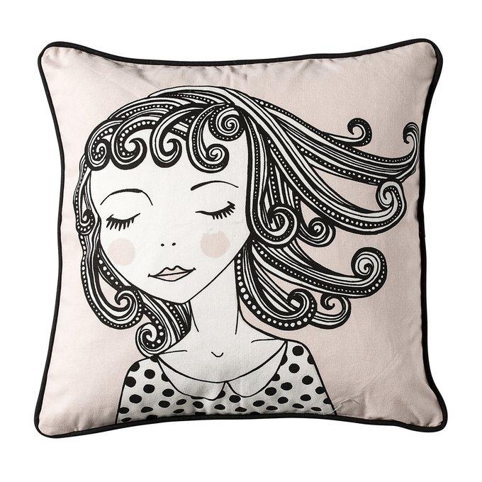 Декоративная подушка Dreamy Girl из хлопка