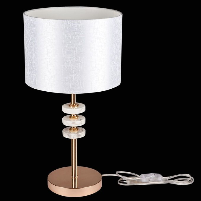 Настольная лампа Tiana из металла и керамики