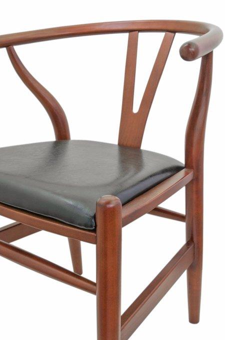 Стул Sling classic leather из дерева и экокожи
