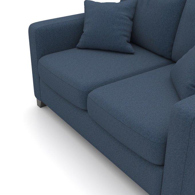 Двухместный диван Mendini MT синего цвета