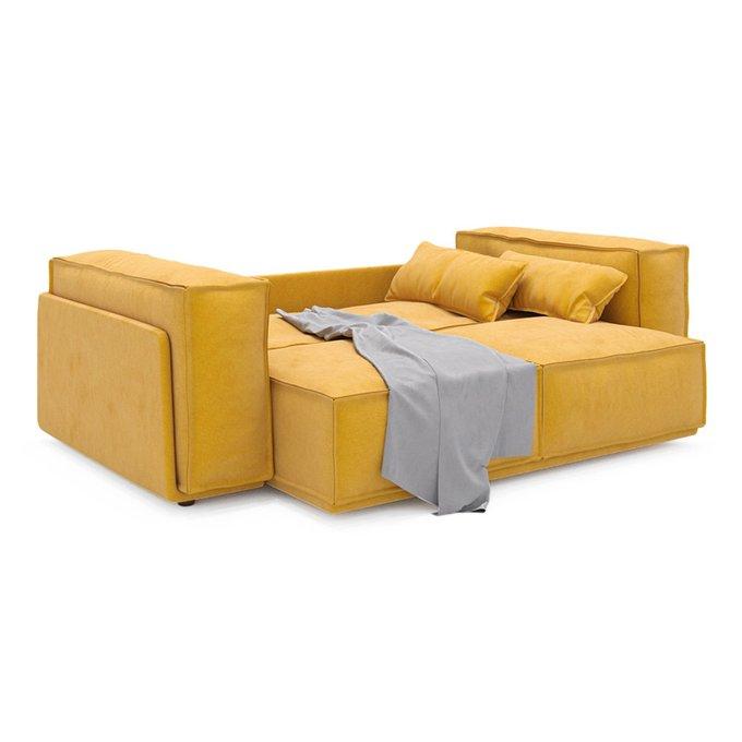 Диван-кровать Vento Classic двухместный желтого цвета