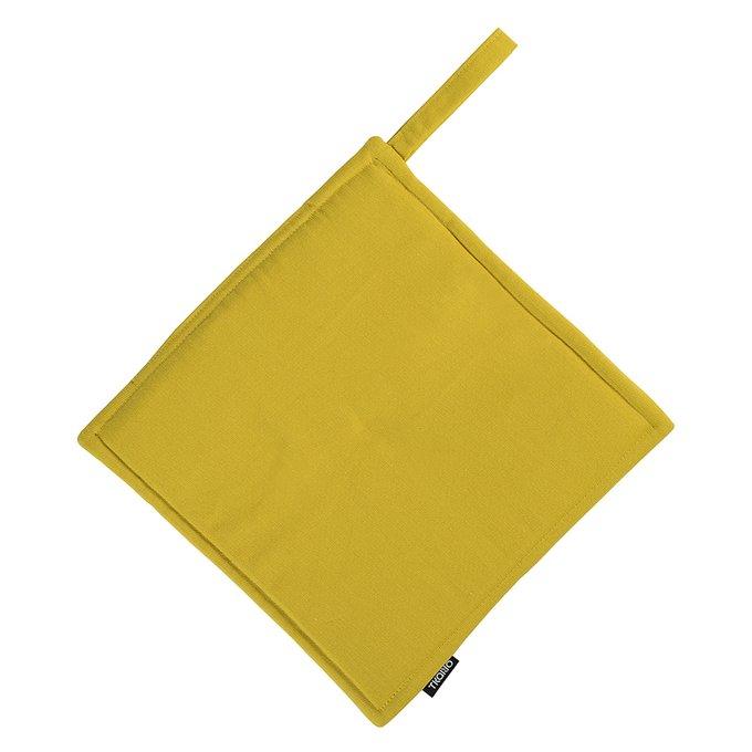 Прихватка горчичного цвета