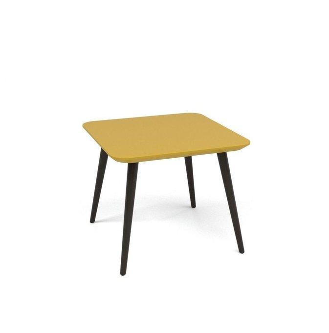 Журнальный стол Scale Quadro желтая эмаль