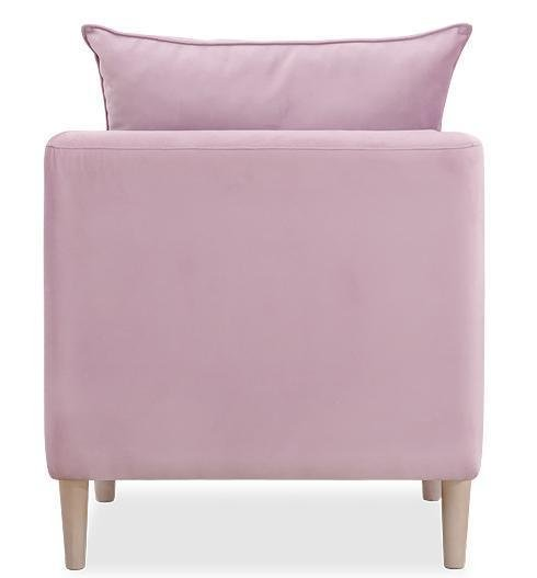 Кресло Катрин розового цвета