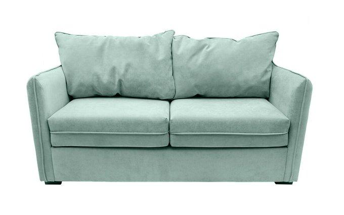Прямой диван Arthur M зеленого цвета