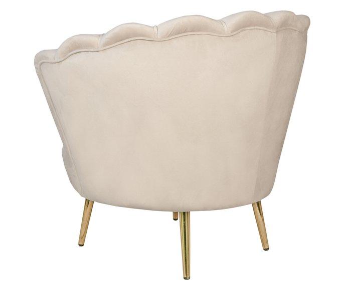 Кресло Pearl бежевого цвета
