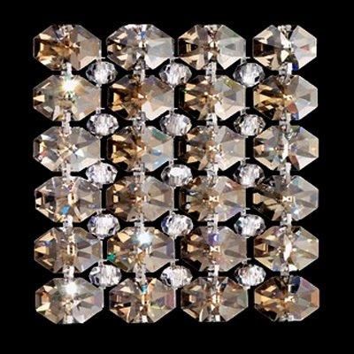 Встраиваемый светильник Schonbek Slices из хрусталя серо-коричневого цвета