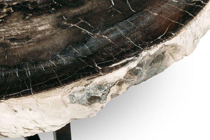 Журнальный стол Палиат из окаменелого дерева 381019