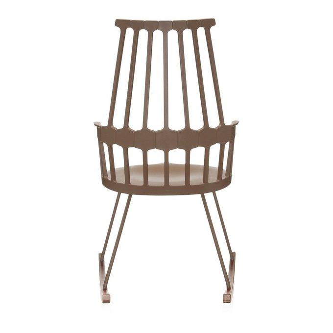 Кресло-качалка Comback коричневого цвета