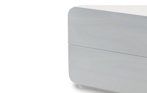 Прикроватная тумба с двумя ящиками