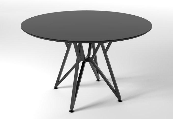 Круглый обеденный стол VOCA Web черный