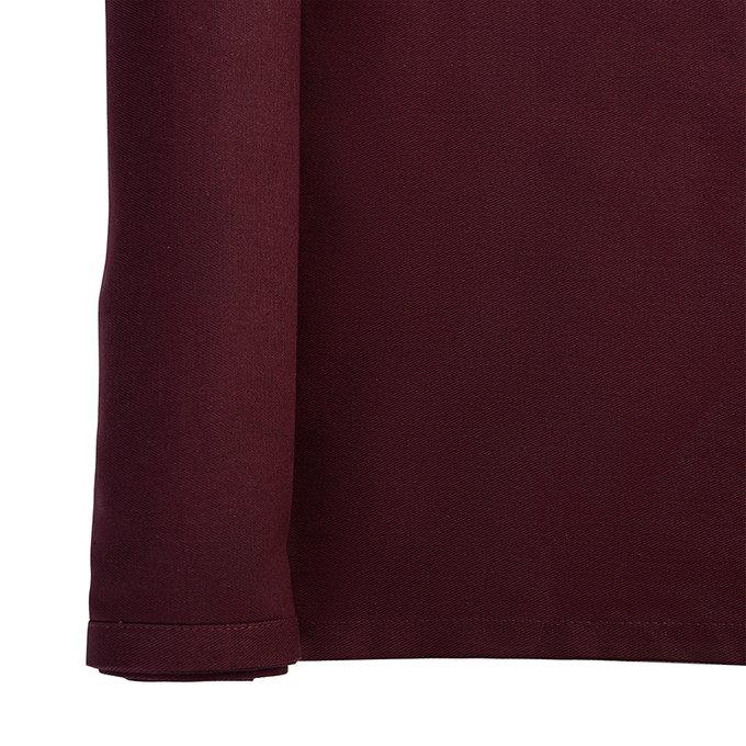 Дорожка на стол Wild бордового цвета