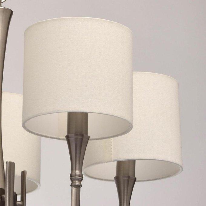 Подвесная люстра MW-Light Конрад с белыми абажурами