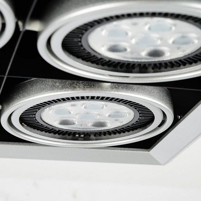 Встраиваемый потолочный светильник Grille Lamp 4