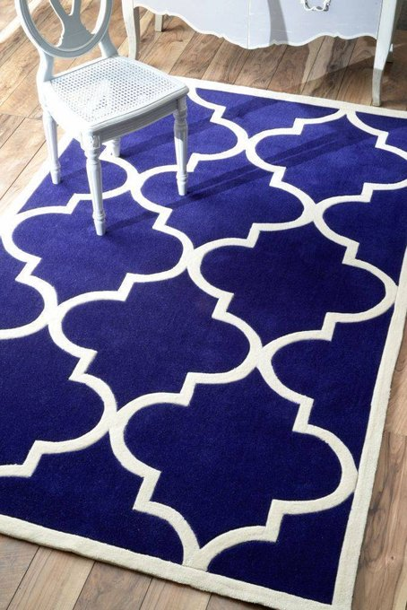 Ковер RUGSBE Marrakech blue 120х180 см