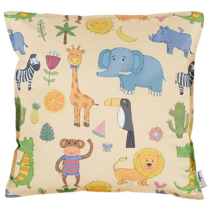 Подушка Safari из хлопка
