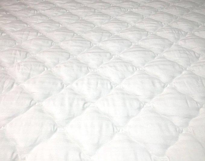 Наматрасник-перина Консул Люкс 80x195 из жаккардового сатина