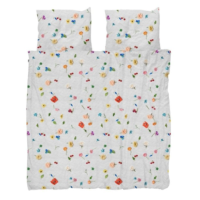 Комплект постельного белья Вязаные цветы 220х200