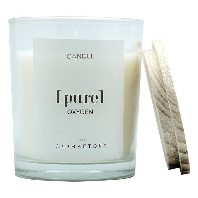 Свеча ароматическая pure - кислород 30 ч