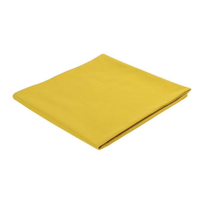 Скатерть на стол Wild горчичного цвета 170х170
