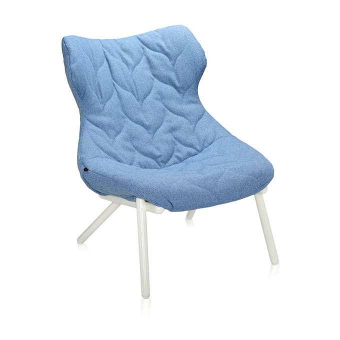 Кресло Foliage голубого цвета