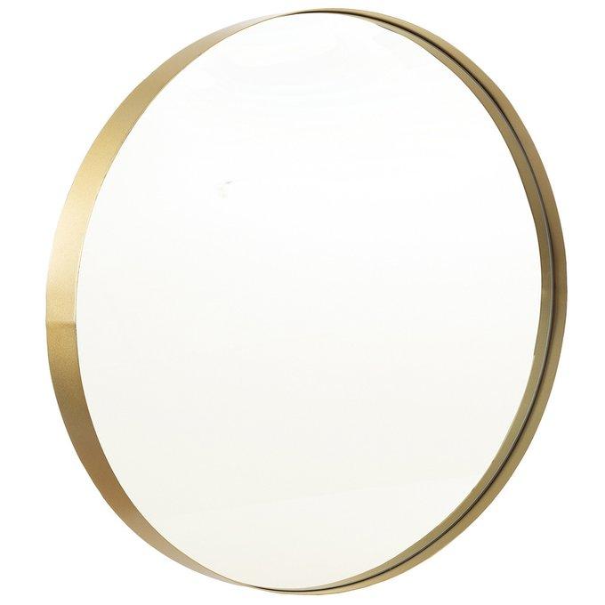 Зеркало настенное Амстердам золотого цвета