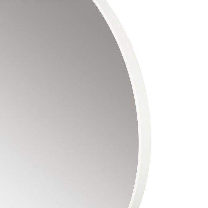 Зеркало настенное Орбита М белого цвета