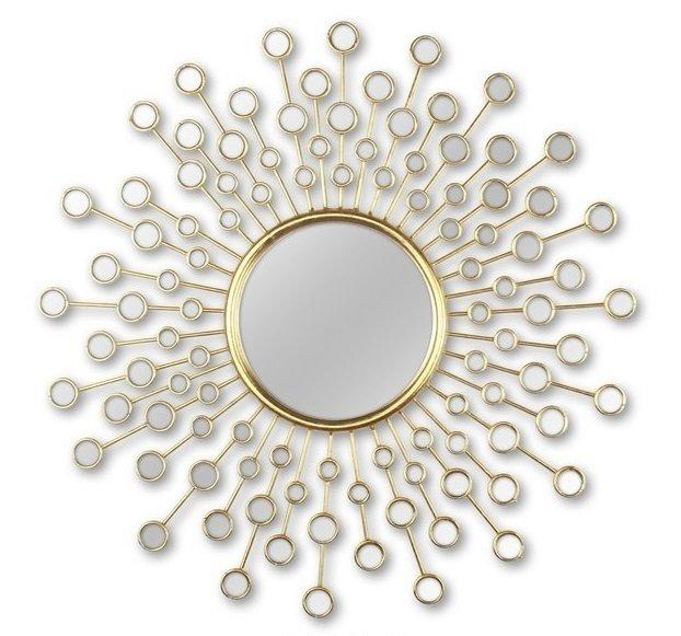 Настенное зеркало-солнце Splash
