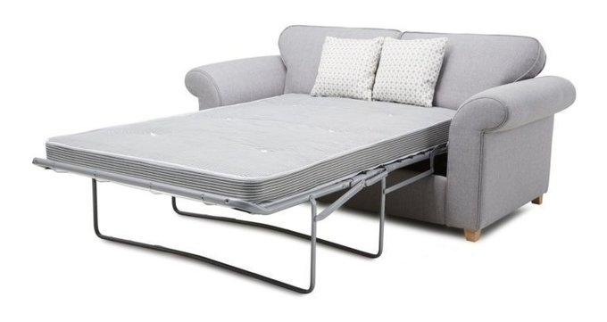 Трехместный раскладной диван Angelic розовый