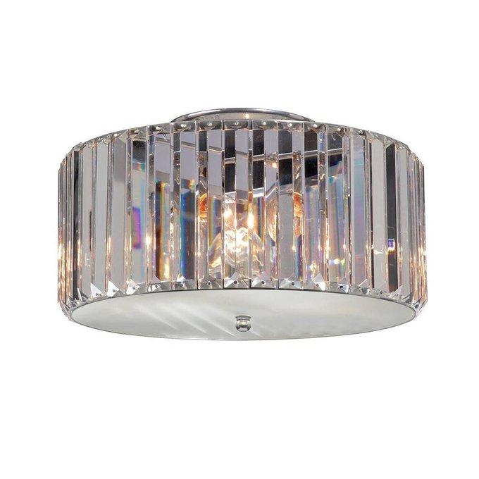Потолочный светильник из прозрачного хрусталя
