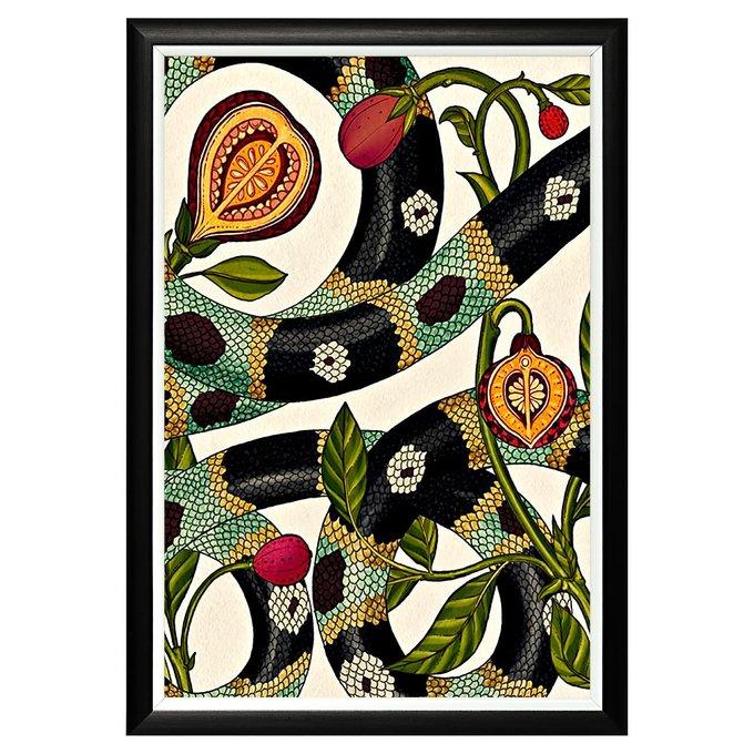 Арт-постер Круговорот явлений в раме из полистирола
