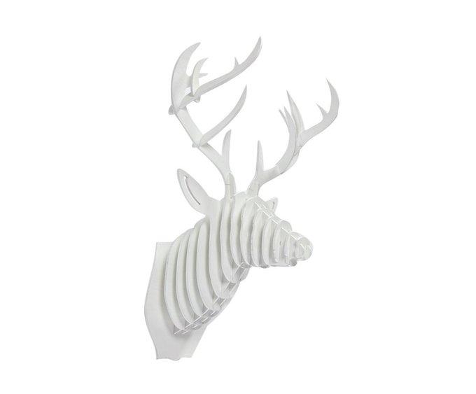 Декоративная голова оленя White
