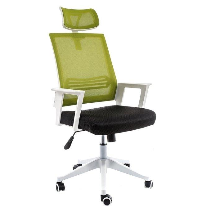 Компьютерное кресло Dreamer черно-зеленого цвета
