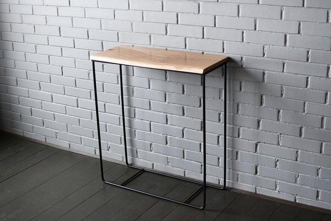 Консольный стол Easy с дубовой столешницей