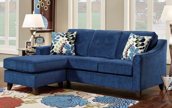 Трехместный угловой диван-кровать Грегори со спальным местом