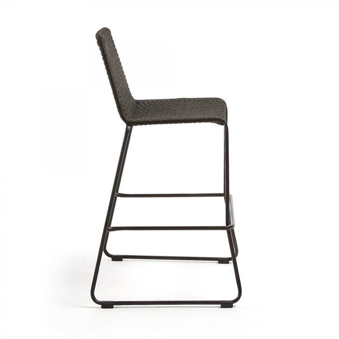 Барный стул Meggie темно-серого цвета