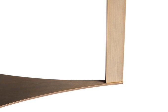 Стол журнальный с металлическим основанием