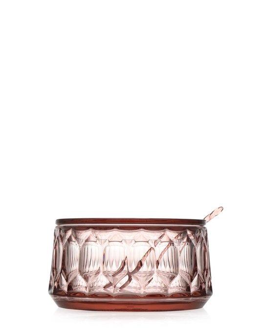 Сахарница Jellies Family розового цвета