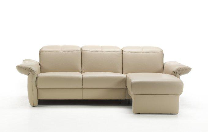 Угловой диван-кровать Zelos бежевого цвета
