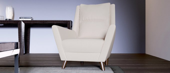 Кресло Йорк бежевого цвета