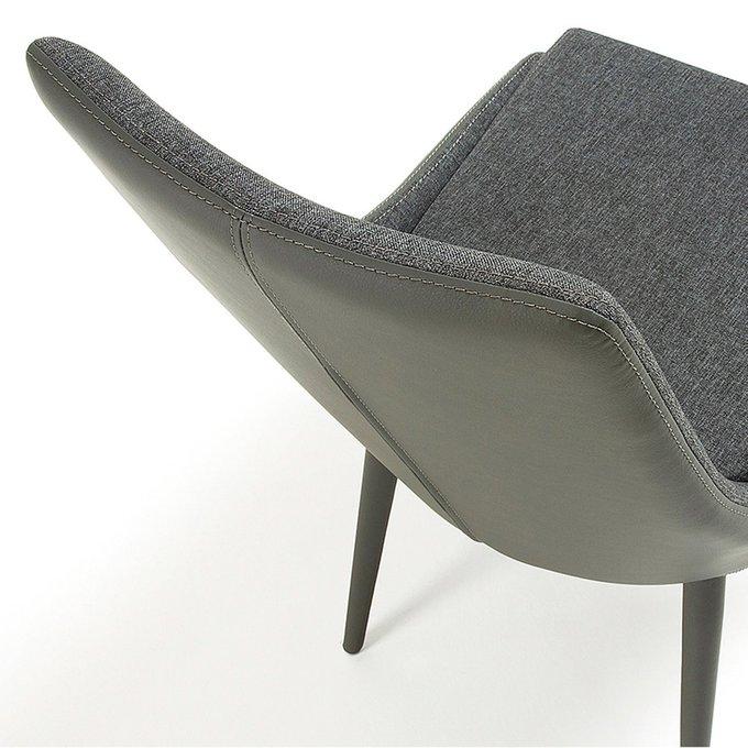 Обеденный стул Dant темно-серый Pu + ткань