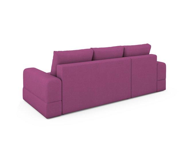 Угловой Диван-кровать Elke пурпурного цвета